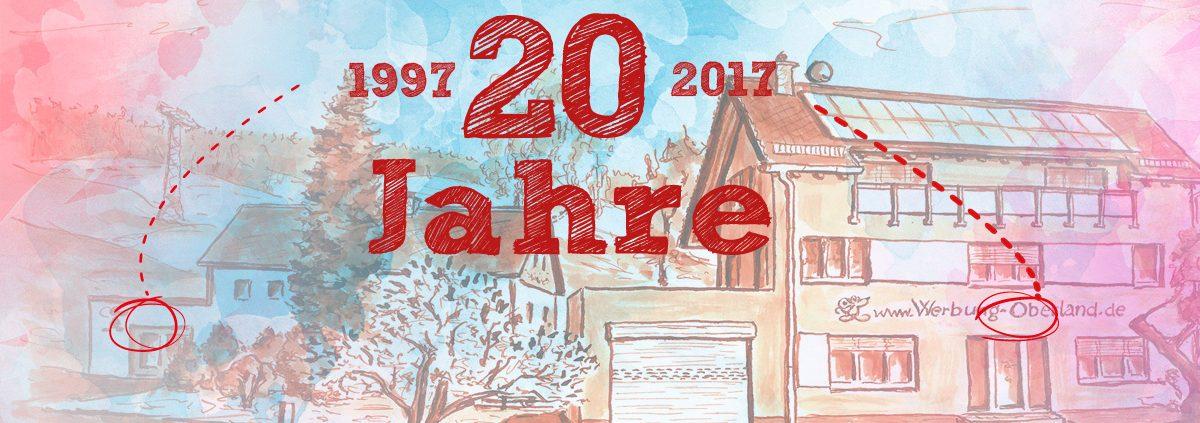 20 Jahre Werbung Oberland