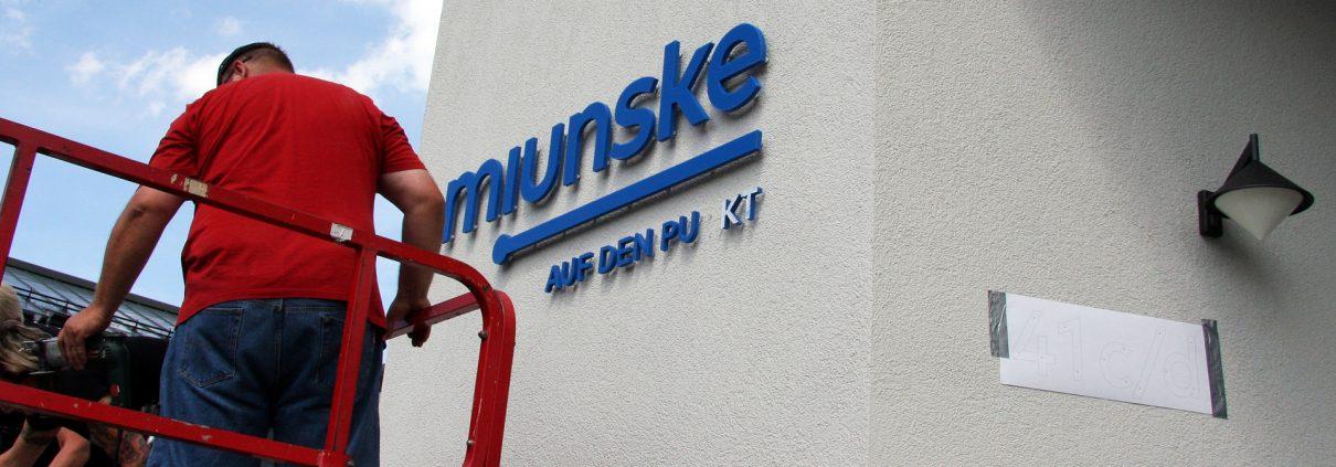 miunske GmbH - Fassadenwerbung